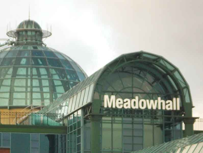 Meadowhall Shopping Centre. Sheffield