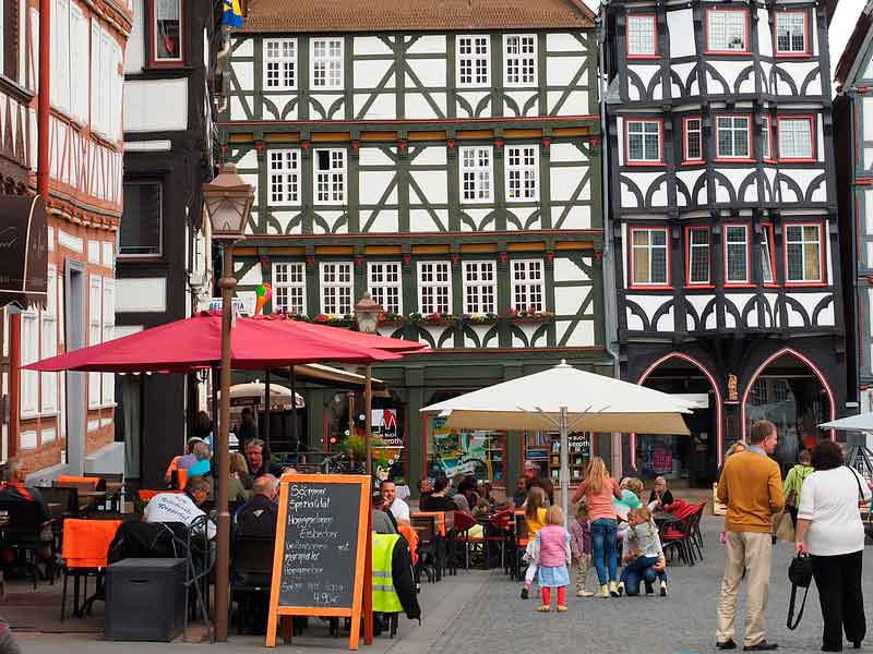 Guildhouse marketplace, Fritzlar