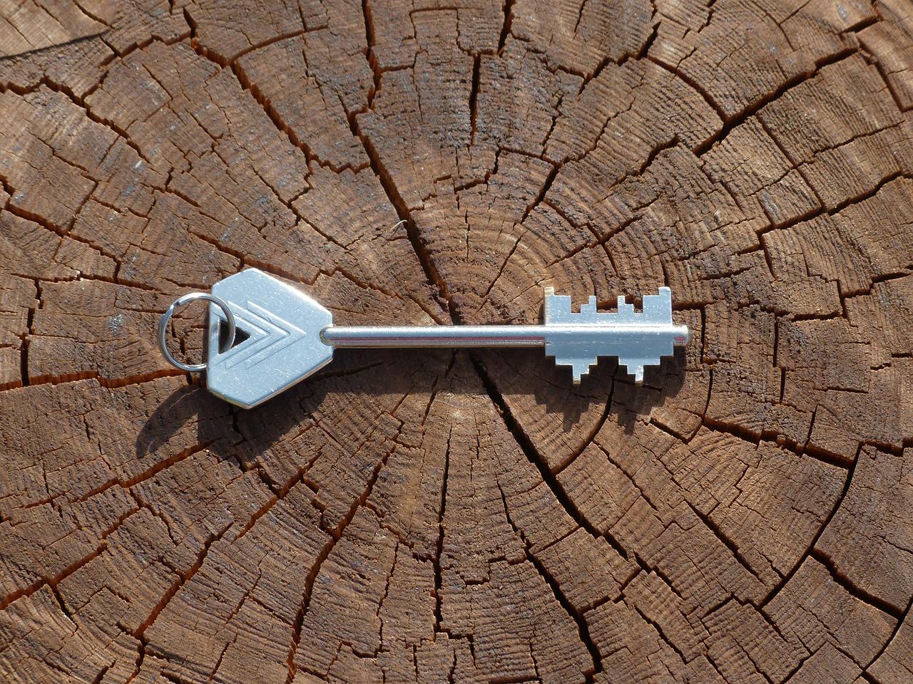 A key provides access