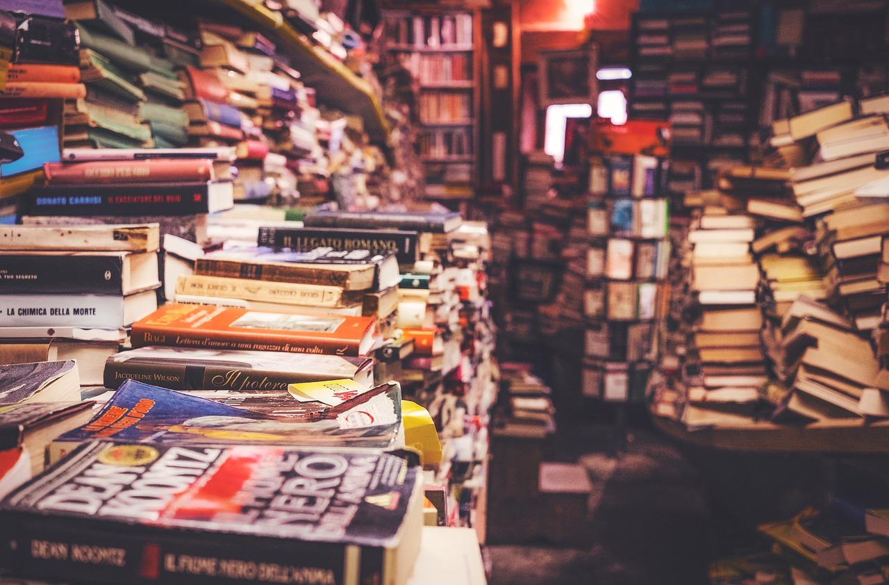 Bookshop, internal